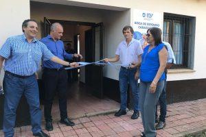 El IPS entregó carnets del Seguro de Salud en Puerto Rico e inauguró delegación en Caraguatay
