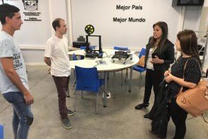 Autoridades del Instituto Pío XII de Buenos Aires visitaron la Escuela de Robótica