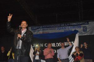 """Campo Viera: """"El triunfo será del pueblo, no mío», dijo Ríos en el cierre de su campaña"""