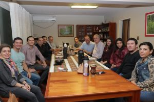 Passalacqua se reunió con el candidato a intendente de Posadas, Juan Manuel Holz