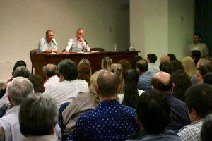 Stelatto y Arce visitaron el Consejo Profesional de Ciencias Económicas