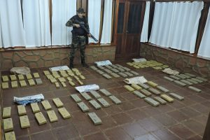 Prefectura incautó 100 kilos de marihuana en Puerto Rico