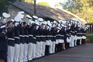 Se realizó la ceremonia por el Día de la Armada Argentina en el Liceo Storni