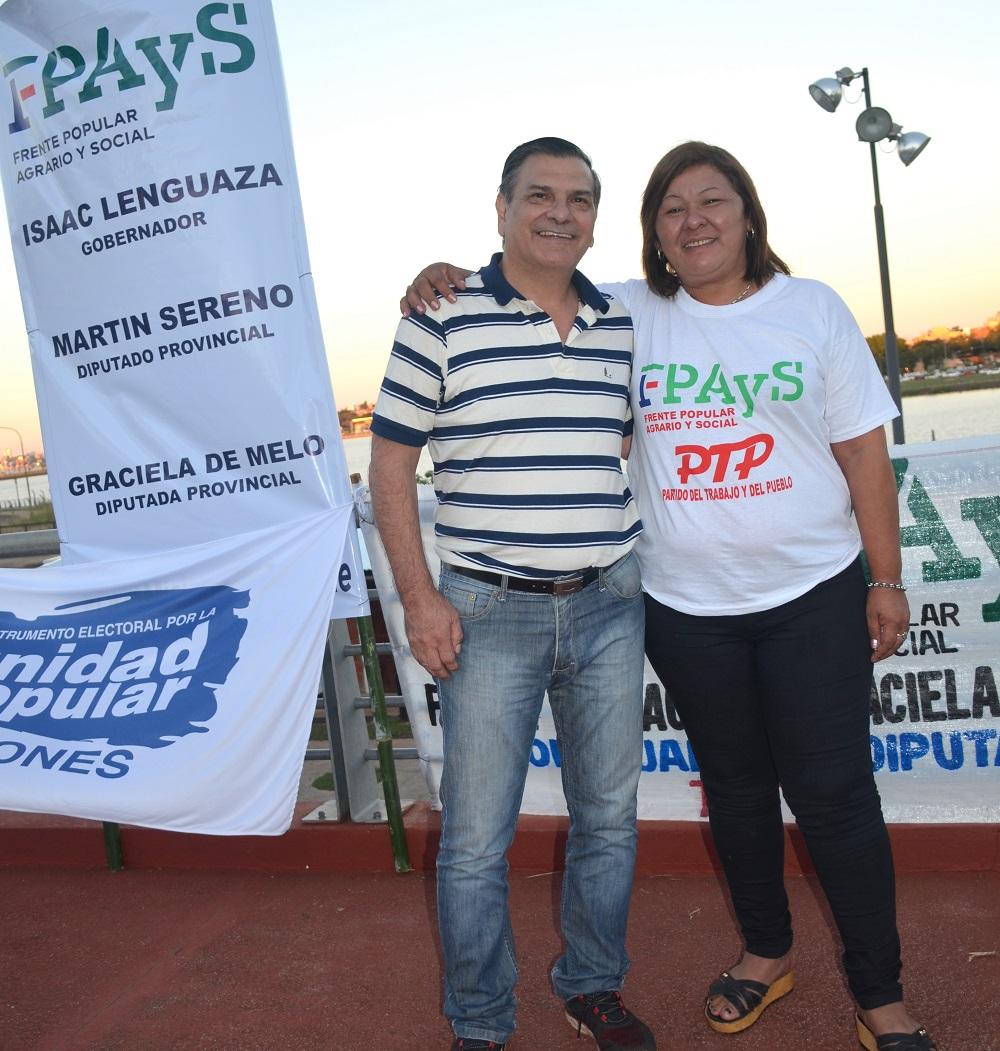 Graciela De Melo: En el FPAyS las mujeres de los sectores populares somos protagonistas