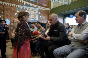 Carlos Arce participó de los festejos patrios en el Hogar de Día de Posadas