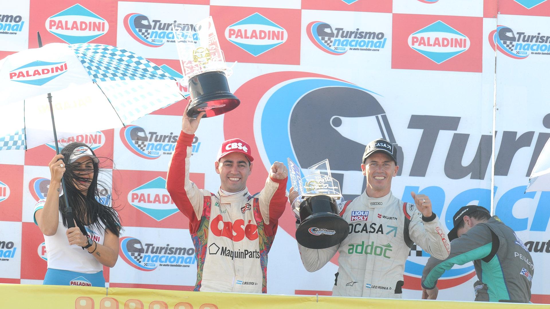 Okulovich volvió al podio en Neuquén