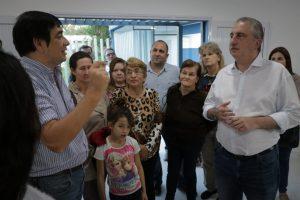 Passalacqua visitó el barrio colonia Aeroparque y el SUM construido a través del Presupuesto participativo» de Posadas