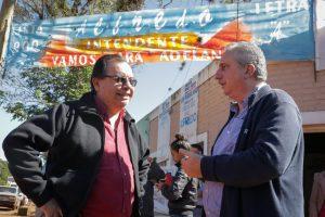 Passalacqua se reunió con Omar Rodríguez, candidato a intendente de Puerto Libertad