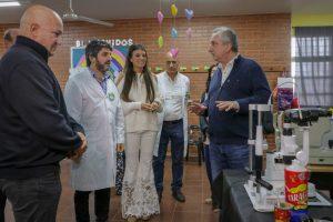 En Puerto Iguazú, el Gobernador presidió el lanzamiento de la tercera edición de «Supersanitos»