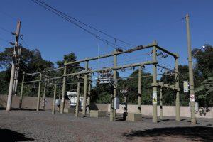 Passalacqua supervisó la puesta en funcionamiento de la nueva subestación transformadora de 33/13,2 de Puerto Iguazú