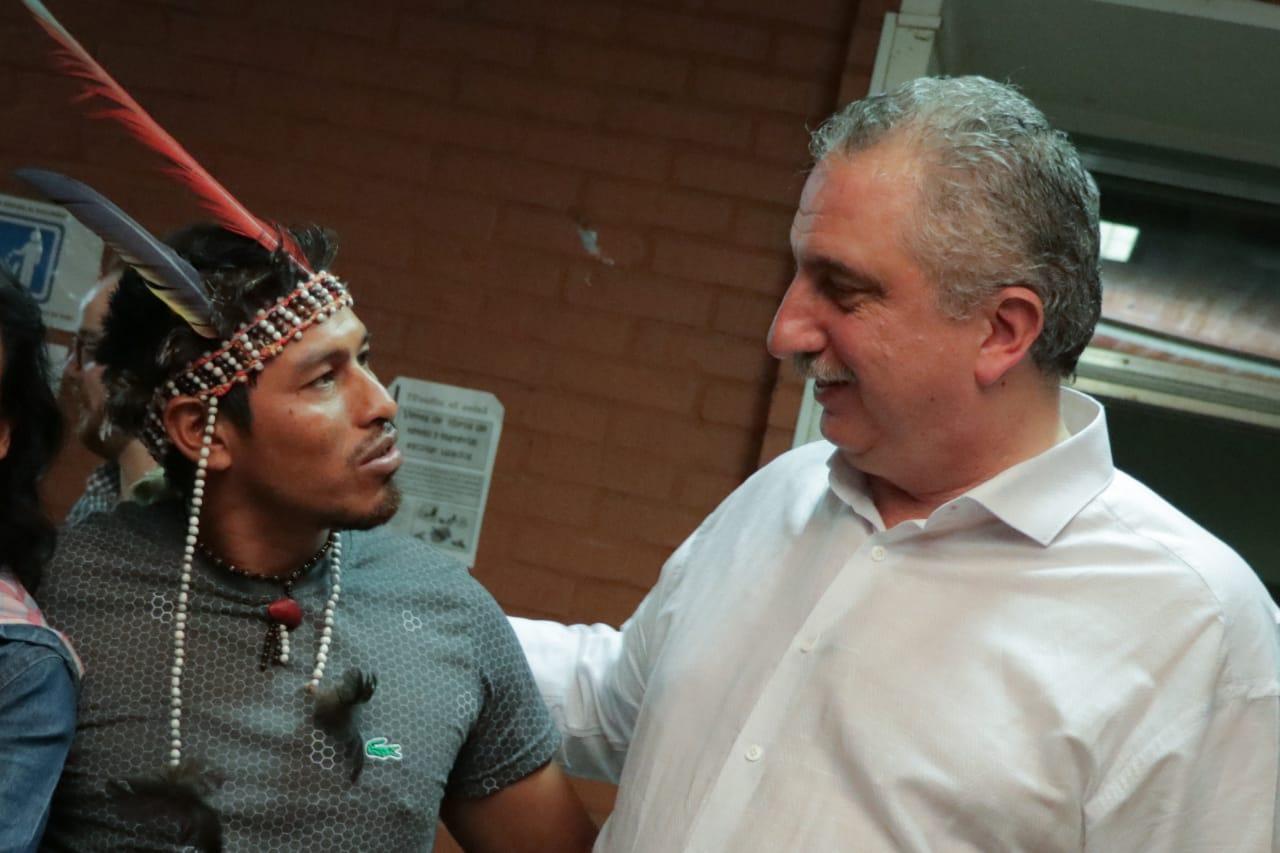 Passalacqua acompaño el lanzamiento de la escuela itinerante de Turismo comunitario