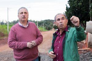 Passalacqua recorrió obras con el titular de Vialidad Provincial