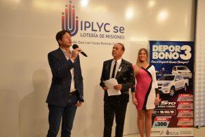 El premio mayor del Deporbono 3 fue vendido por la Federación de Voley