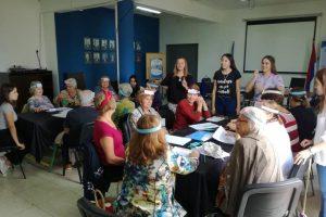 Se realizó el séptimo taller de estimulación mental y memoria para adultos mayores