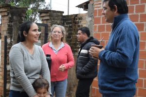 Losada: «Queremos seguir mejorando la calidad de vida de los vecinos de Posadas».