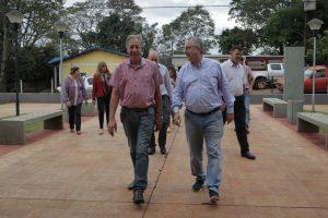 Passalacqua visitó a candidatos a intendentes de General Alvear y de Colonia Alberdi