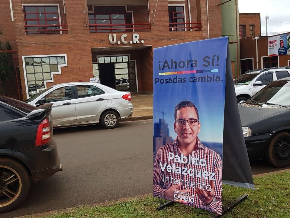 Fuerte respaldo radical a Pablito Velázquez