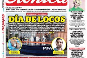Las tapas del martes 14: El control del FMI, la amenaza en Casa Rosada y el precio de la soja