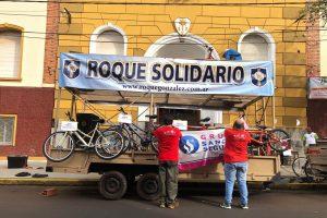 Todo listo para la vigésima bicicleteada solidaria del Roque González