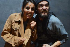 Los Irreverentes sobre las tablas del teatro de Prosa