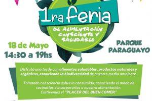 Feria consciente este sábado en el parque Paraguayo de Posadas
