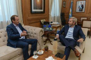 Frigerio recibió a los gobernadores Peppo y Bordet en el marco del acuerdo por los 10 puntos básicos