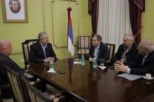 Passalacqua recibió al embajador de Israel, Ilan Sztulman