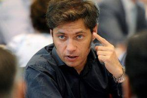 Kicillof dijo que «nadie quiere un default» y se mostró abierto a negociar con el FMI