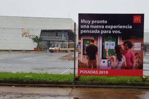 Mc'Donalds promociona su llegada a Posadas