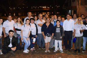 Fernando Meza visitó las Chacras 144 y 152