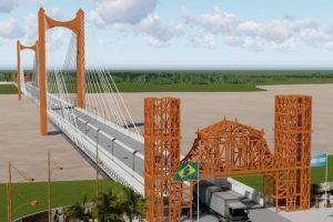 Lemes recibió el informe de factibilidad del puente binacional San Javier – Porto Xavier