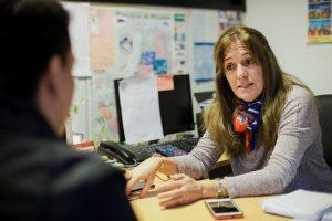 """""""La empatía es nuestra principal herramienta"""", indicó Marcela Alvez"""