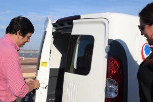 Losada incorporó dos nuevos móviles al parque vial del municipio