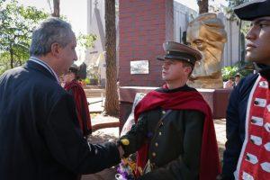 Passalacqua rindió homenaje a Güemes en un acto en Oberá