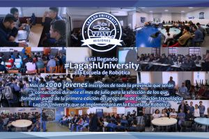 Jóvenes misioneros serán evaluados para participar de Lagash University en la Escuela de Robótica