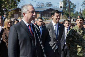 Día de la Bandera: «La Argentina será federal o no será», proclamó Passalacqua junto a Urtubey en Candelaria
