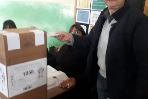 Dudek fue reelecto como intendente de Cerro Azul