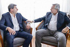 Alberto Fernández en San Juan: «Uñac es el futuro del peronismo»