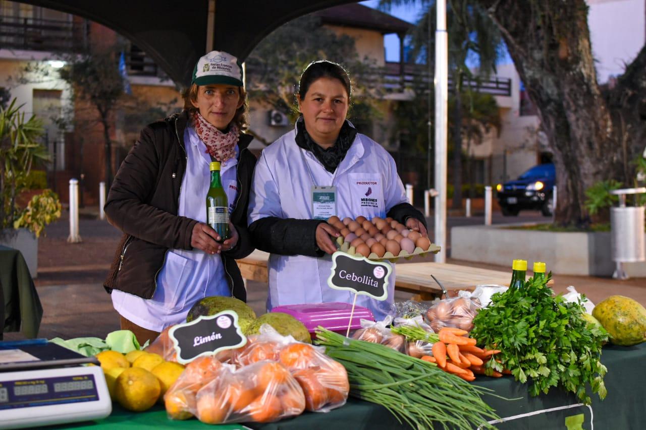 Productores misioneros lograron ventas por medio millón de pesos en las plazas de la soberanía alimentaria