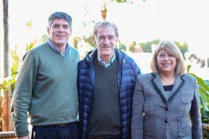 Freddy Storani llegó a Misiones para respaldar a los candidatos radicales