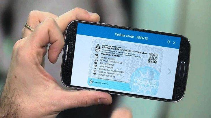 Por el momento en Misiones no será válida la cédula digital del auto