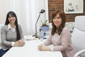 Cristina Fernández recibió a Cristina Britez para diagramar la campaña en Misiones