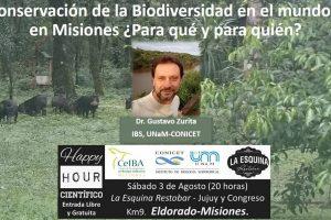 Debatirán sobre la conservación de la Biodiversidad en el mundo y en Misiones