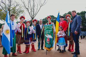 Herrera Ahuad presidió el acto conmemorativo del Patrono de Tres Capones