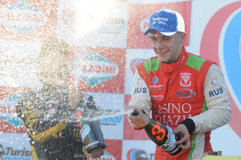 En Oberá, Rudito festejó su primer podio en el TN