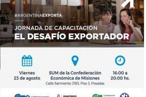 El Desafío Exportador: convocan a emprendedores y empresarios PyMEs a la jornada de capacitación