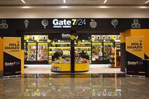El aeropuerto Carlos Krause cada vez más «top»: abrió la exclusiva tienda Gate 7/24 en el sector de check in
