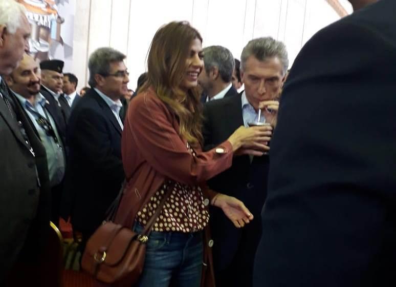 Closs y Colombi lograron un «imposible»: Que Macri tome un mate