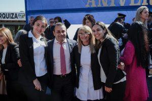 """""""Aún en momentos difíciles vamos a dar la cara con mucha responsabilidad política"""", dijo Herrera Ahuad en Urquiza"""