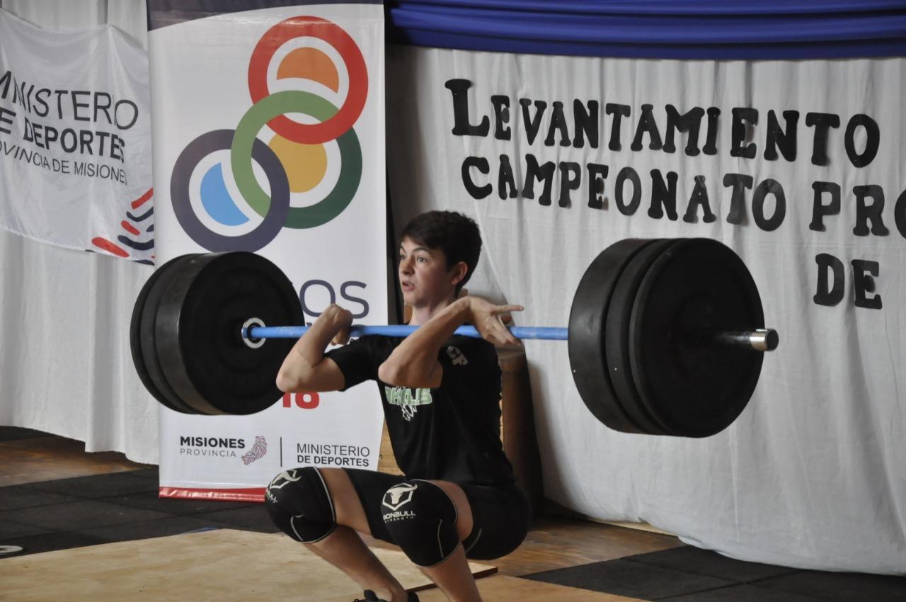 Juegos Deportivos Misioneros: Inicia la Final Provincial de levantamiento de pesas